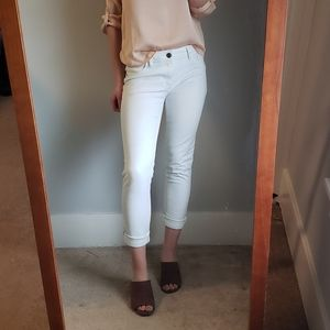 4 for $20 White Skinny Ankle Jeans